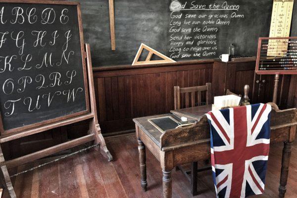 Recreated-classroom-in-museum